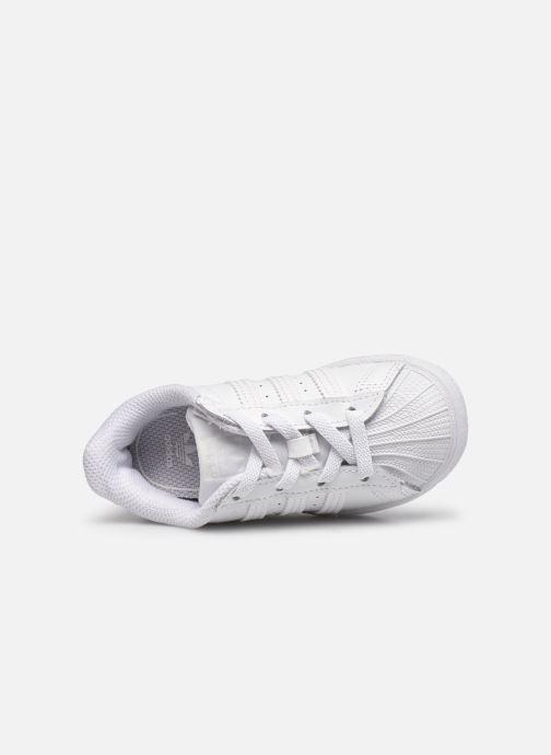 Sneakers adidas originals Superstar EL I Bianco immagine sinistra