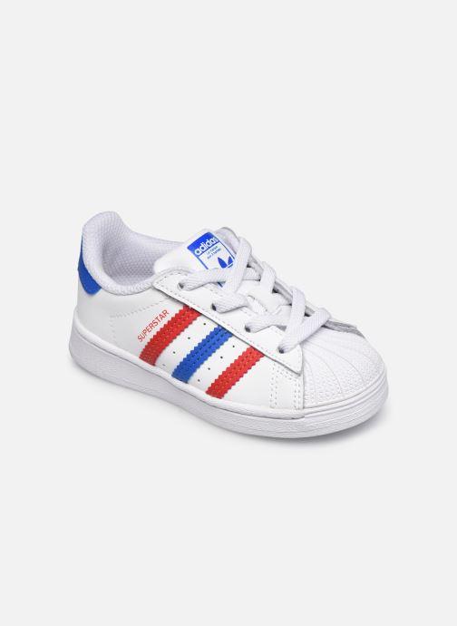 Sneaker adidas originals Superstar EL I weiß detaillierte ansicht/modell