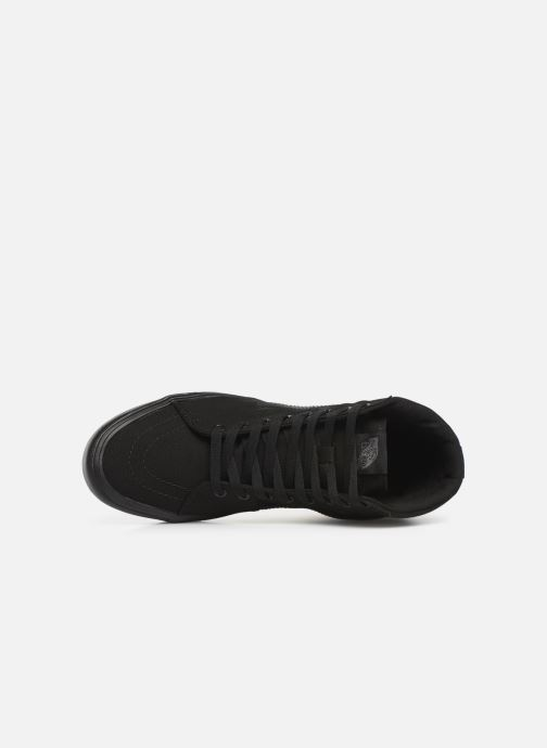 Trainers Vans Sk8-Hi Lite Black view from the left