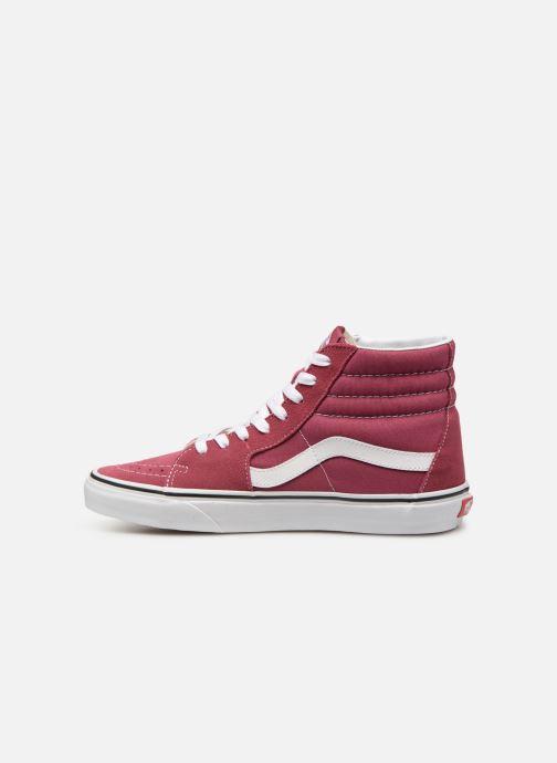 Sneakers Vans SK8 Hi Roze voorkant