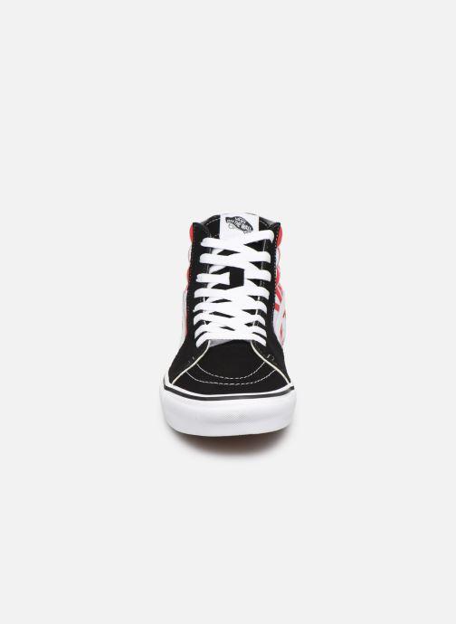 Baskets Vans SK8 Hi Noir vue portées chaussures