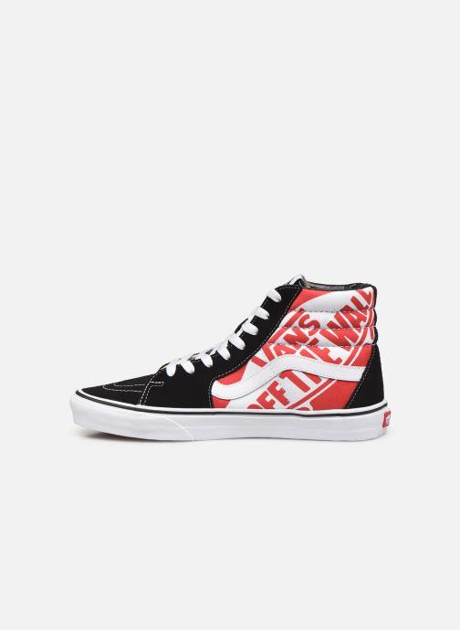 Sneakers Vans SK8 Hi Zwart voorkant