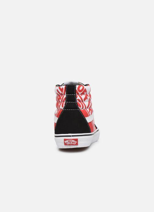 Sneakers Vans SK8 Hi Zwart rechts