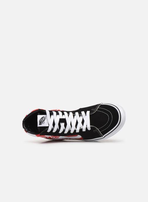Sneakers Vans SK8 Hi Zwart links