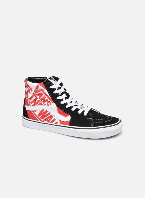 Sneakers Vans SK8 Hi Sort detaljeret billede af skoene