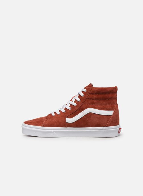 Baskets Vans SK8 Hi Orange vue face