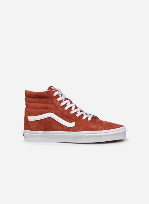 Baskets Vans SK8 Hi Orange vue derrière