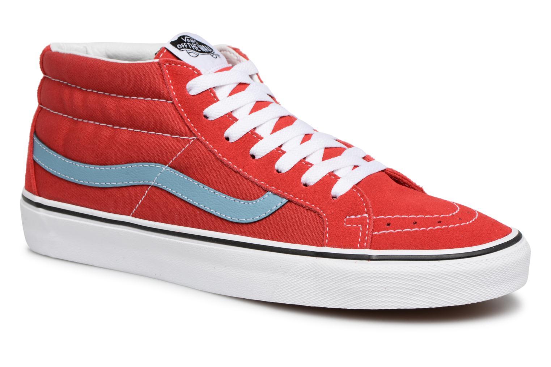 Nuevo zapatos Deportivas Vans SK8-Mid Reissue (Rojo) - Deportivas zapatos en Más cómodo 83b27b