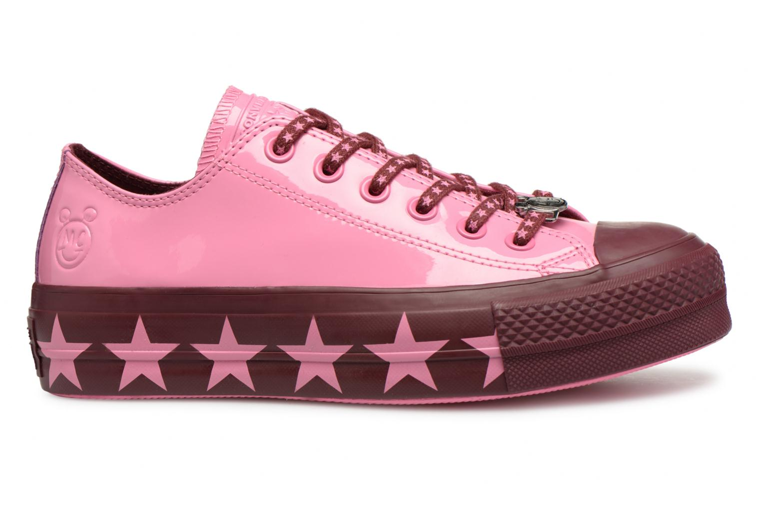 Sneakers Converse Chuck Taylor All Star Lift Ox Miley Cyrus Rosa immagine posteriore