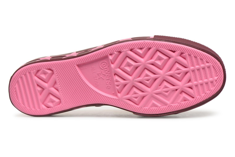 Sneakers Converse Chuck Taylor All Star Lift Ox Miley Cyrus Rosa immagine dall'alto