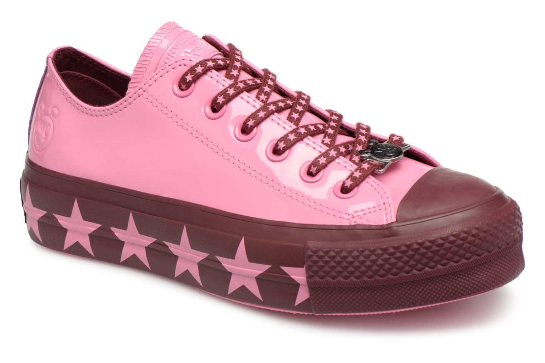 Sneakers Converse Chuck Taylor All Star Lift Ox Miley Cyrus Rosa vedi dettaglio/paio