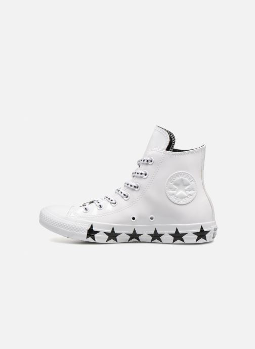 Sneakers Converse Chuck Taylor All Star Hi Miley Cyrus Bianco immagine frontale