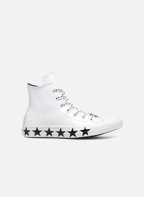 Sneakers Converse Chuck Taylor All Star Hi Miley Cyrus Bianco immagine posteriore