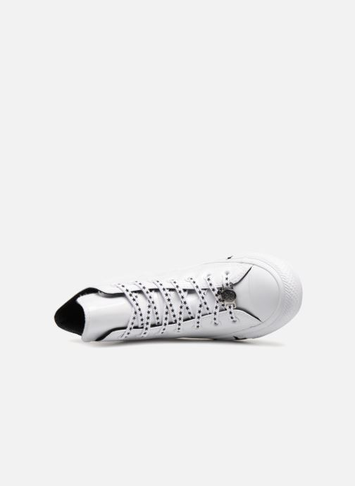 Sneakers Converse Chuck Taylor All Star Hi Miley Cyrus Bianco immagine sinistra