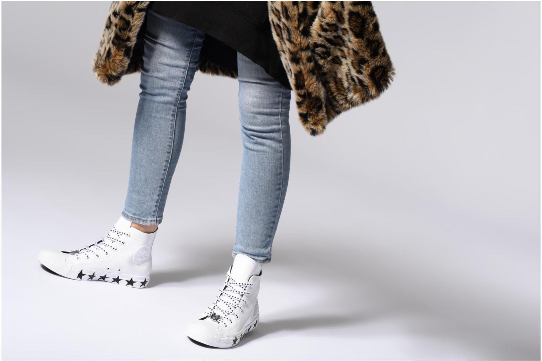 Sneakers Converse Chuck Taylor All Star Hi Miley Cyrus Bianco immagine dal basso