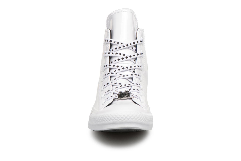 Sneakers Converse Chuck Taylor All Star Hi Miley Cyrus Bianco modello indossato