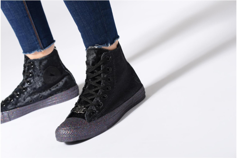Sneakers Converse Chuck Taylor All Star Hi Miley Cyrus Nero immagine dal basso