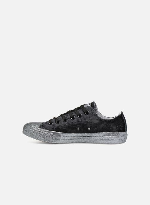 Sneakers Converse Chuck Taylor All Star Ox Miley Cyrus Zwart voorkant