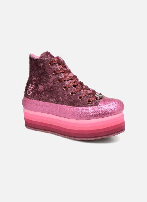0139da0be844 Converse Chuck Taylor All Star Platform Hi Dark Miley Cyrus (Purple ...