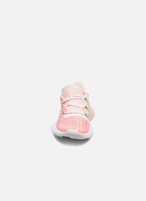 Sneakers adidas originals Tubular Dusk J Rosa bild av skorna på