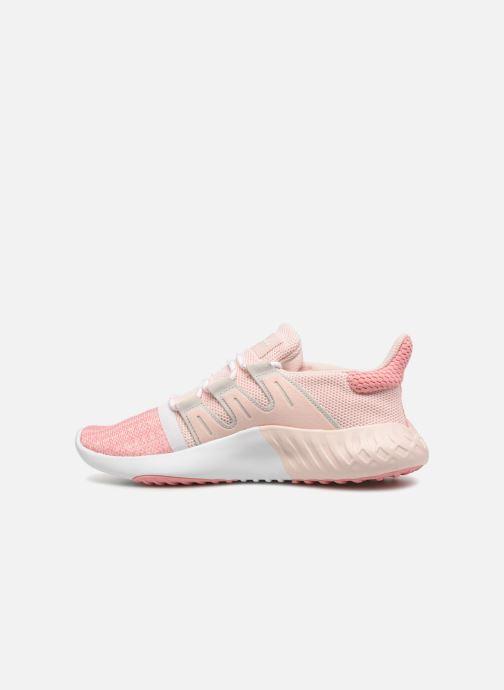Sneakers adidas originals Tubular Dusk J Rosa bild från framsidan