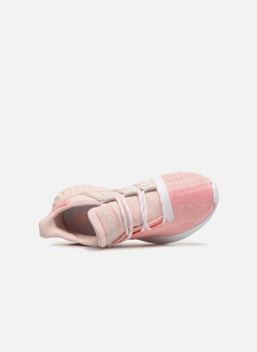 Sneakers adidas originals Tubular Dusk J Rosa bild från vänster sidan