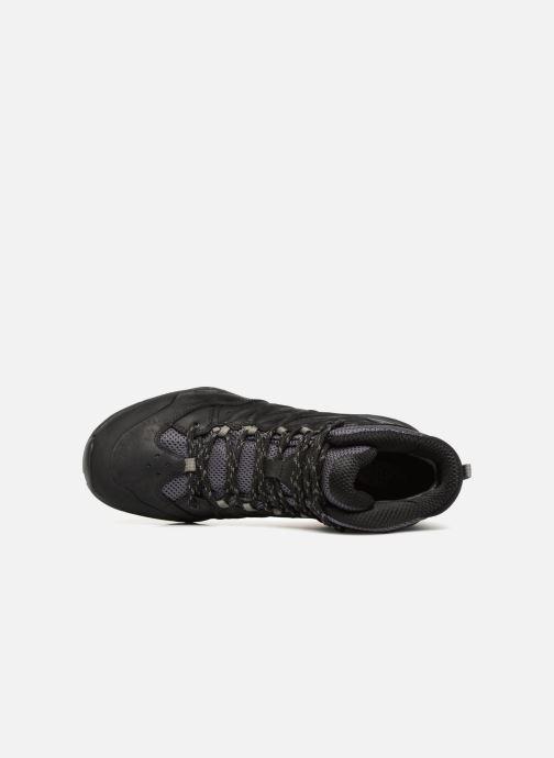 Chaussures de sport The North Face Hedgehog Hike II MD GTX Noir vue gauche