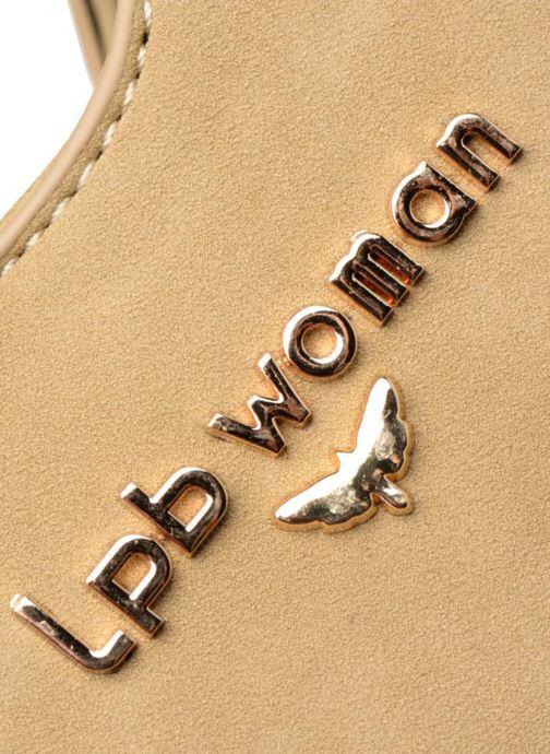 Bolsos de mano LPB Woman Cabas LPB 301 Beige vista lateral izquierda