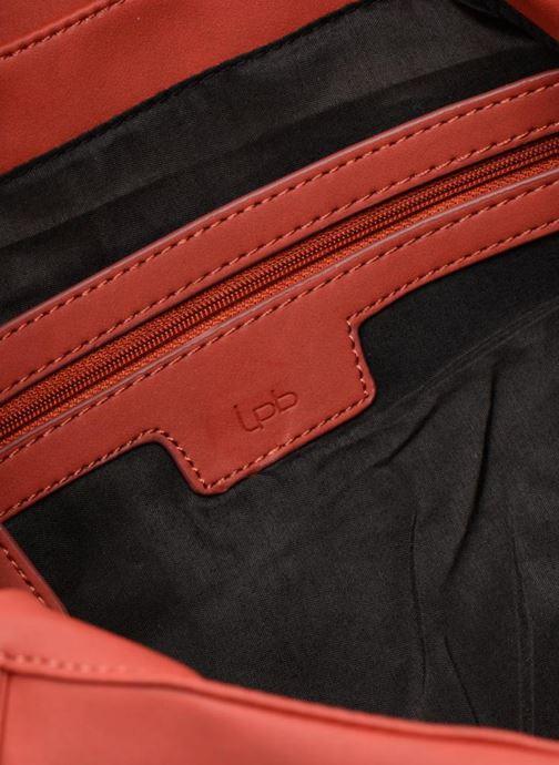 Sacs à main LPB Woman Sac LPB 302 Bordeaux vue derrière