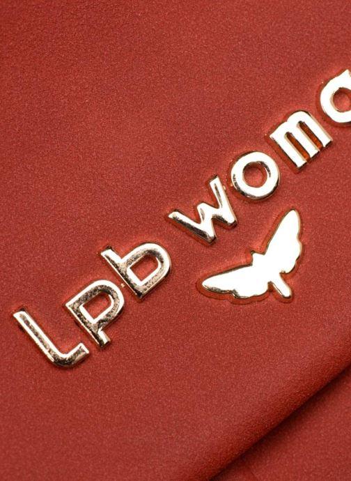 Handtassen LPB Woman Sac LPB 302 Bordeaux links