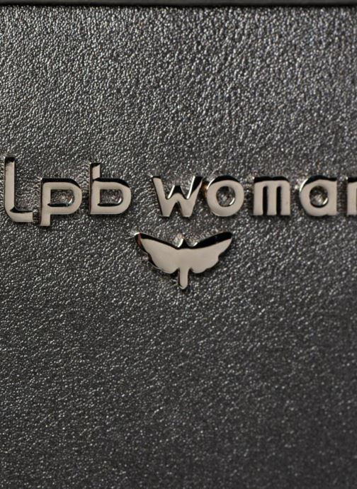 Bolsos de mano LPB Woman Sac LPB 401 Gris vista lateral izquierda