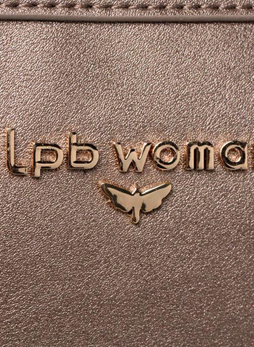 Bolsos de mano LPB Woman Sac LPB 401 Marrón vista lateral izquierda