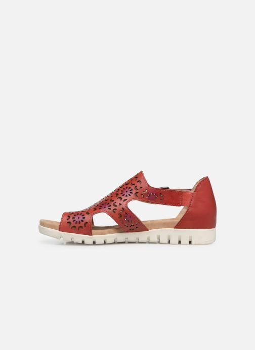 Sandales et nu-pieds Laura Vita Dobby 01 Rouge vue face