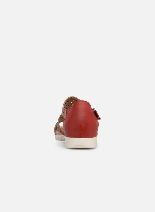 Sandales et nu-pieds Laura Vita Dobby 01 Rouge vue droite