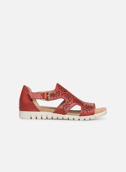 Sandales et nu-pieds Laura Vita Dobby 01 Rouge vue derrière