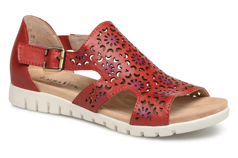 Laura Vita Dobby 01 (Red) Sandals - Sandals (Red) chez (344668) c72eb9