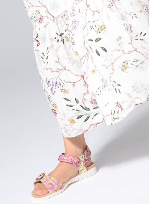 Sandales et nu-pieds Laura Vita Dobby 03 Rose vue bas / vue portée sac