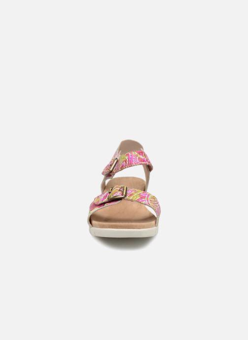 Sandales et nu-pieds Laura Vita Dobby 03 Rose vue portées chaussures