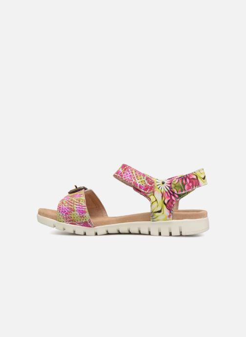 Sandales et nu-pieds Laura Vita Dobby 03 Rose vue face