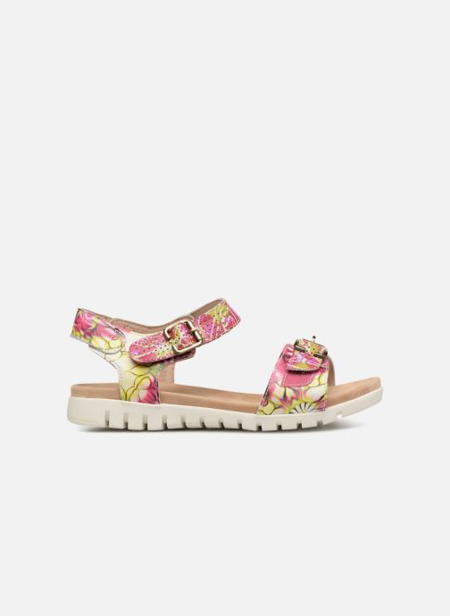 Sandales et nu-pieds Laura Vita Dobby 03 Rose vue derrière