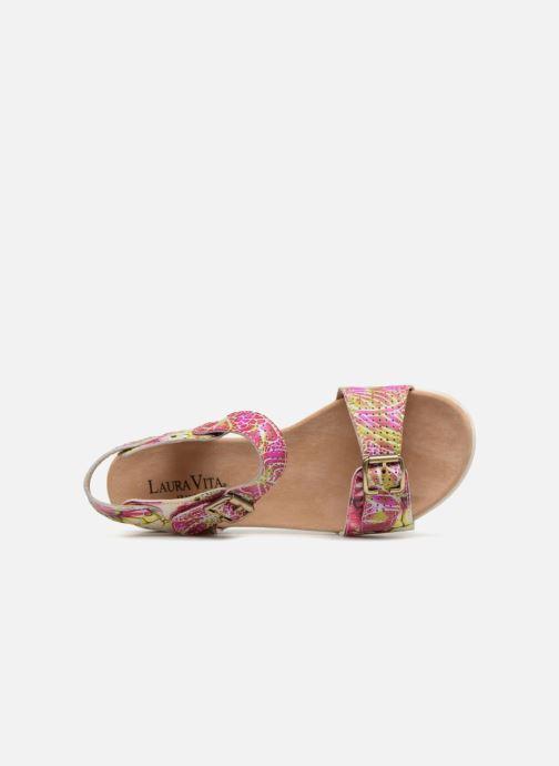 Sandales et nu-pieds Laura Vita Dobby 03 Rose vue gauche