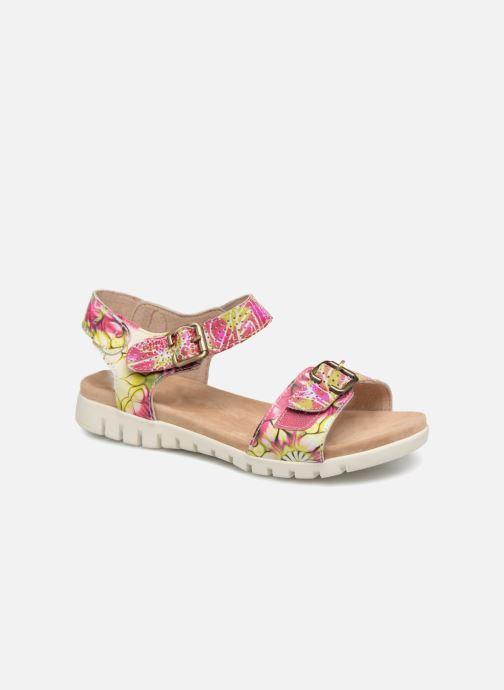 Sandales et nu-pieds Laura Vita Dobby 03 Rose vue détail/paire