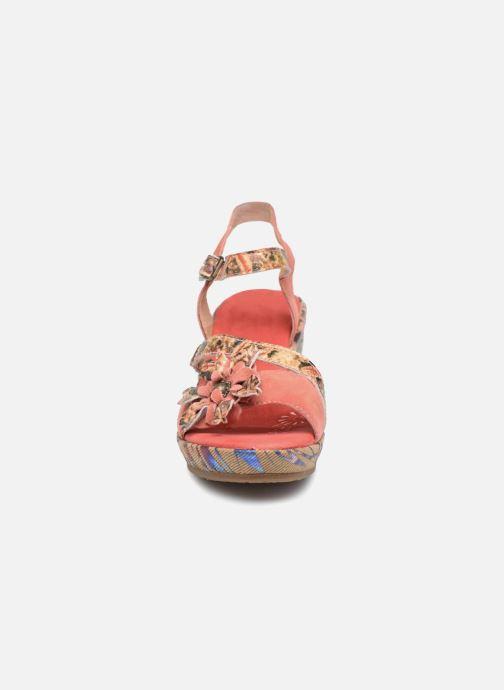 Sandales et nu-pieds Laura Vita Beaute 11 Rouge vue portées chaussures
