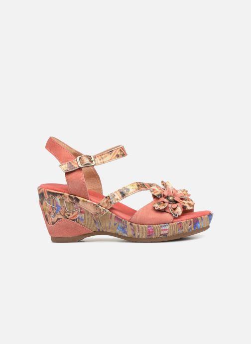 Sandales et nu-pieds Laura Vita Beaute 11 Rouge vue derrière
