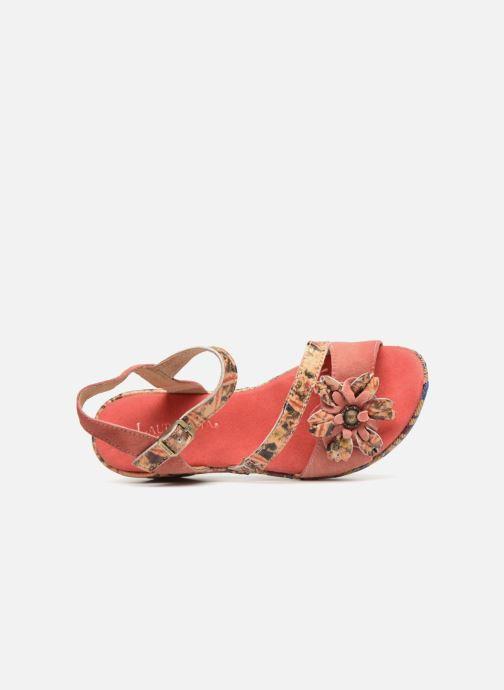 Sandales et nu-pieds Laura Vita Beaute 11 Rouge vue gauche