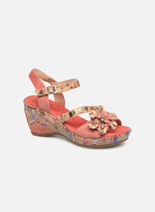 Sandales et nu-pieds Laura Vita Beaute 11 Rouge vue détail/paire