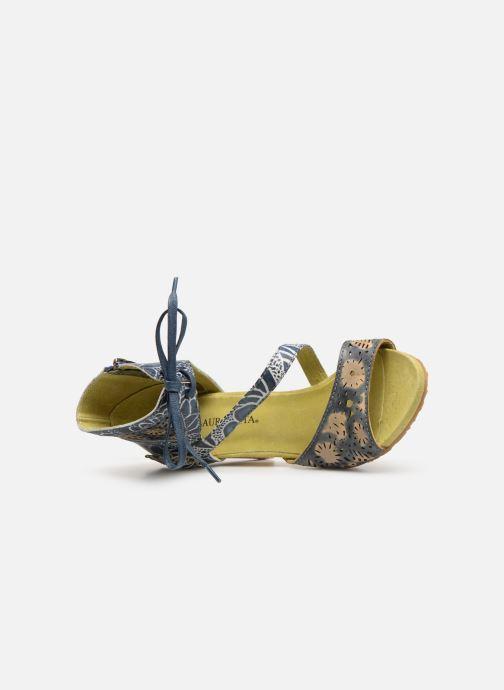 Sandali e scarpe aperte Laura Vita Bernie 178 Azzurro immagine sinistra