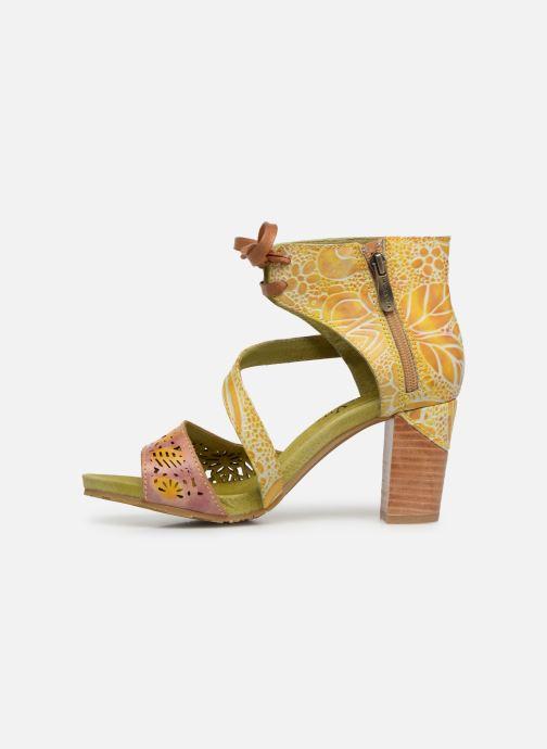 Sandales et nu-pieds Laura Vita Bernie 178 Jaune vue face