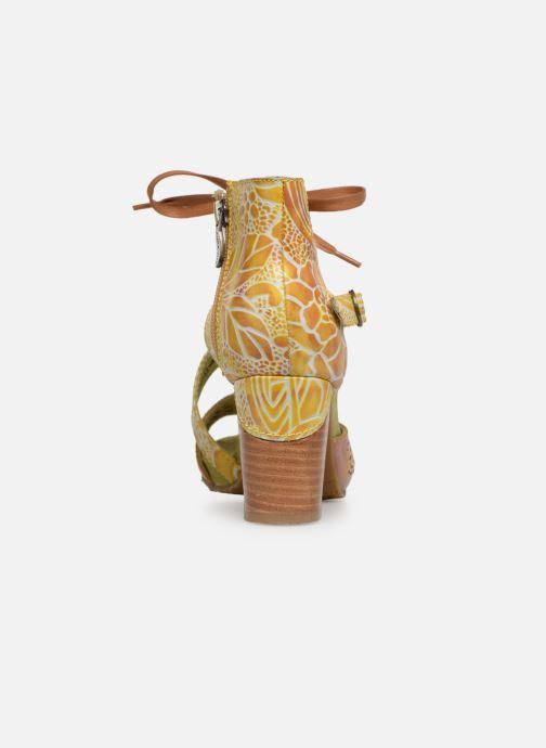 Sandales et nu-pieds Laura Vita Bernie 178 Jaune vue droite