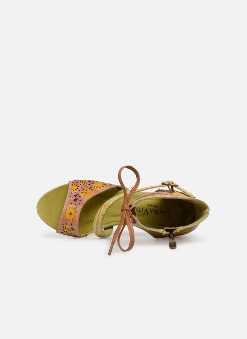 Sandales et nu-pieds Laura Vita Bernie 178 Jaune vue gauche